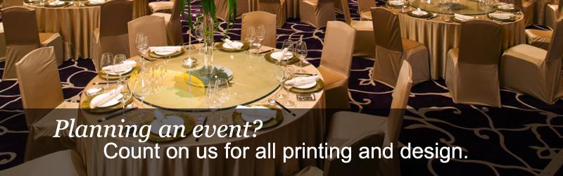 Events Planning and Printing
