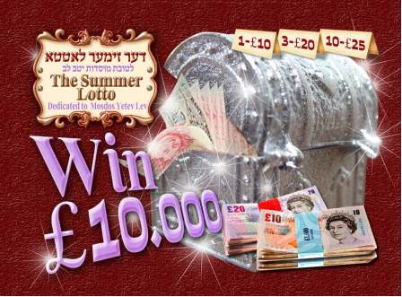 Satmar raffle tickets